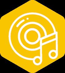 music pillar logo