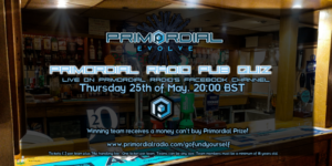 Primordial Radio Pub Quiz May 2017 Flyer