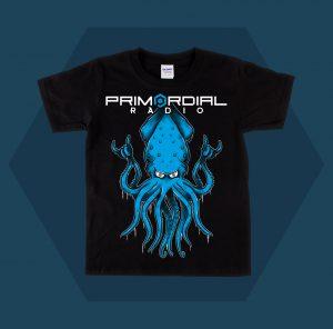 Primordial Radio Squid Kids T-shirt