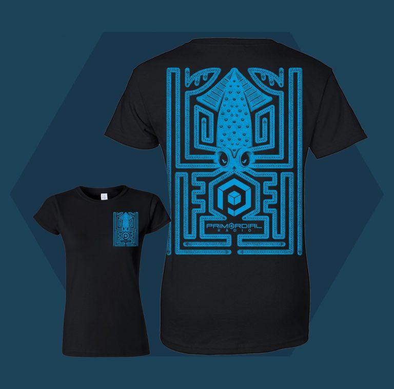 Primordial Maze T-shirt Womens