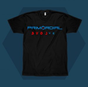 Primordial Radio Love Mens T-shirt