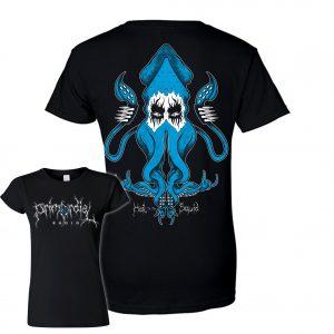 Hail the Squid Primordial Radio Womens T-Shirt