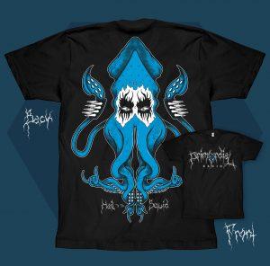 Hail the Squid Tshirt Mens