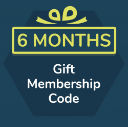 6 month gift membership for Primordial Radio