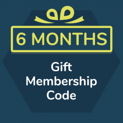 6 month gift membership for Primordial Radio