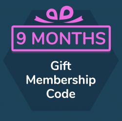 9 month gift membership for Primordial Radio