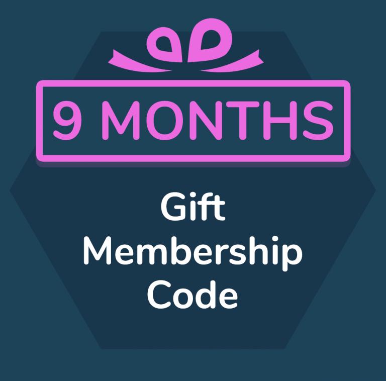 9 month gift membership for Primordial Radio
