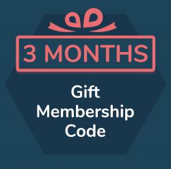3 month gift membership for Primordial Radio