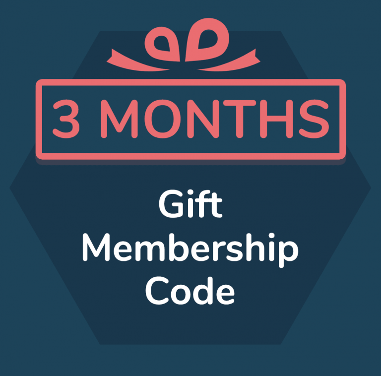 3 month gift membership for Primordial Radio
