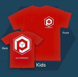 #lovemusic Kids tshirt