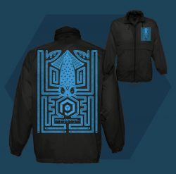 Primordial Radio Maze Windbreaker Jacket