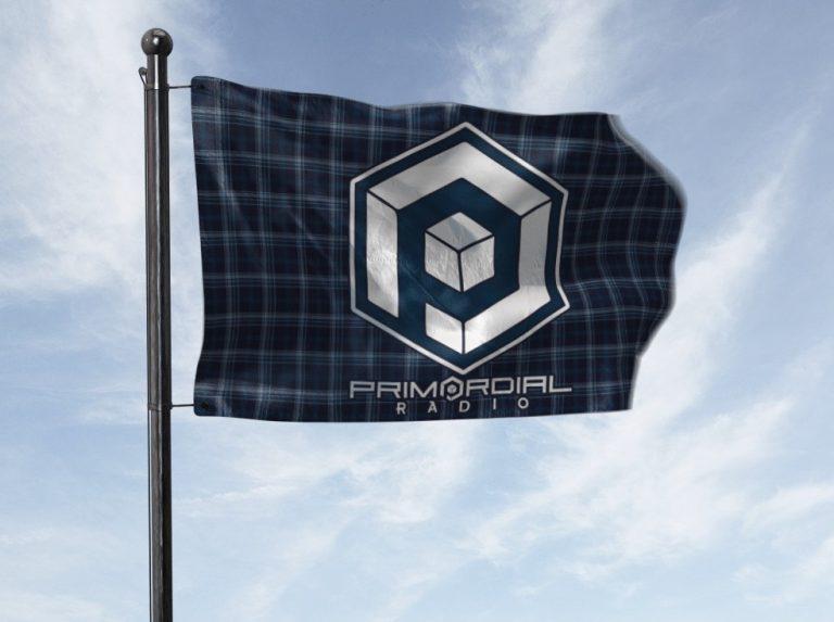 Primordial Radio Festival Tartan Flag