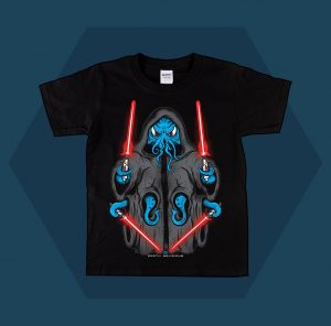 Darth Squid T-Shirt Kids