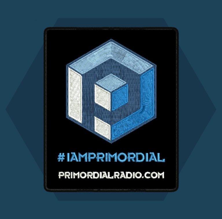 Primorail Radio Cube sew on patch