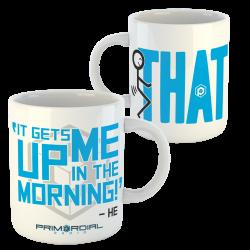#hesaid mug from primordial Radio
