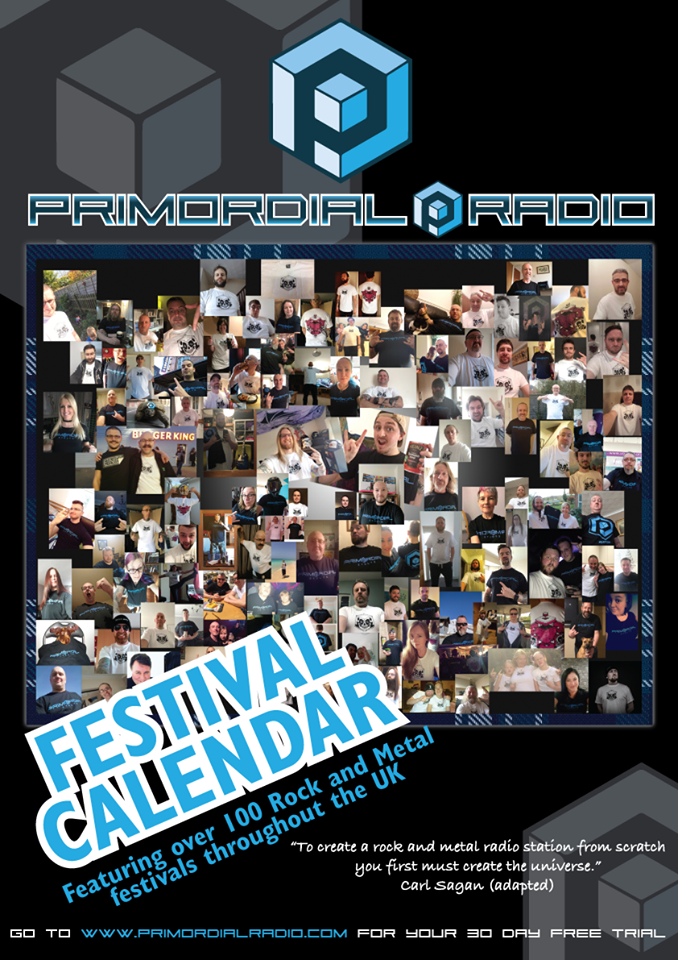 Primordial Radio Calendar - First look