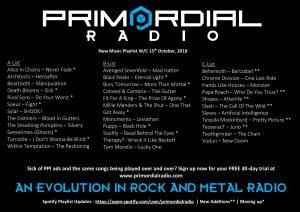 Primordial-Radio-Playlist-Updates15th-Otober-2018