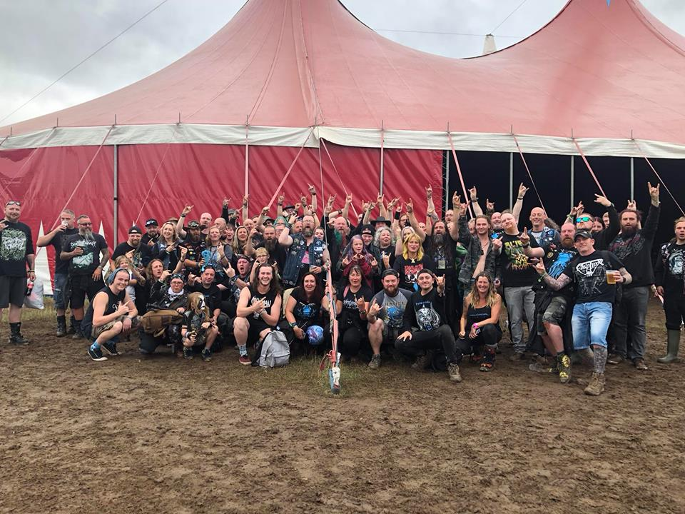 bloodstock 2018 - prfam and alien weaponry