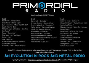 Primordial-Radio-Playlist-Updates-23rd-Otober-2018