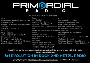 Primordial-Radio-Playlist-Updates-26th-november-2018