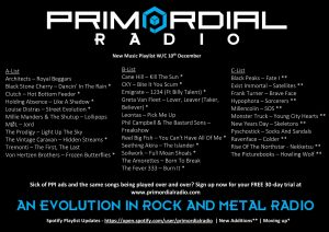 Primordial-Radio-Playlist-Updates12th-december-2018