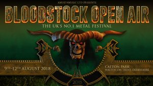 Bloodstock 2018 Header Logo