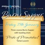 Primordial Burns Support Flyer