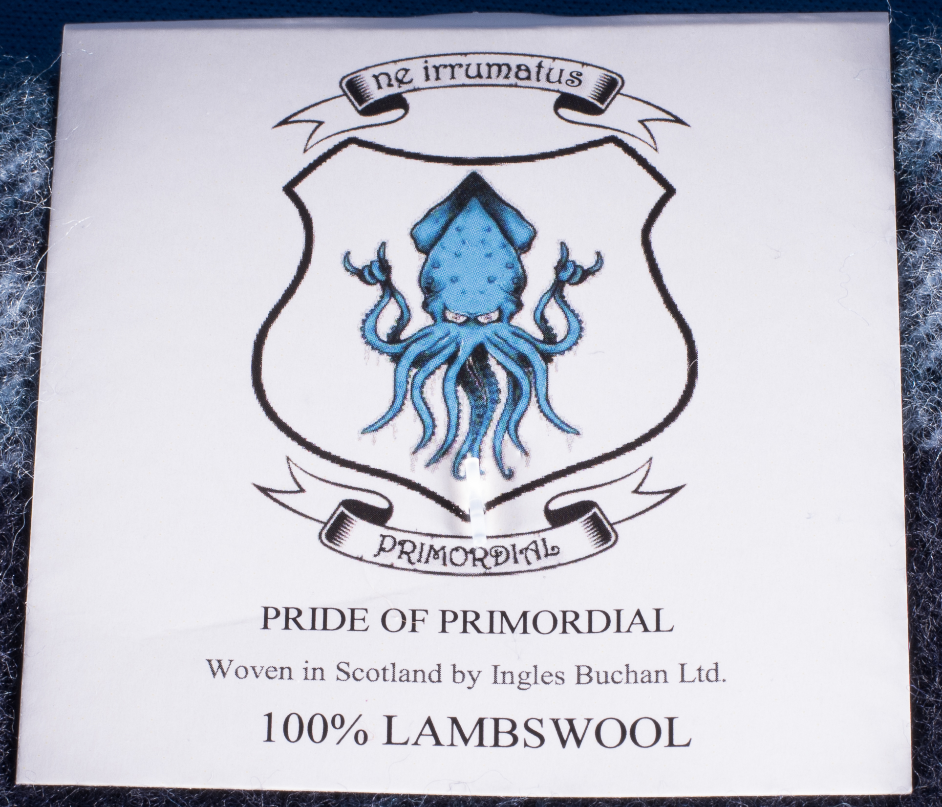 Pride of Primordial Tartan Label