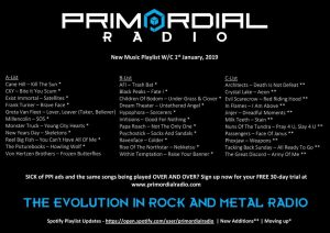 Primordial-playlist-update-1st jan 2019
