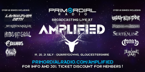 Amplified Festival Primordial Annoucement Banner