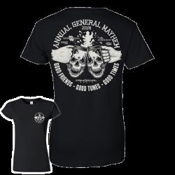 Annual General mayhen Womens T-Shirt
