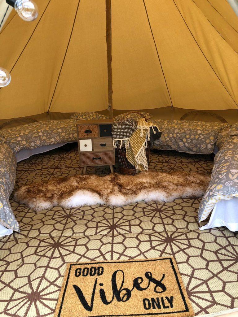Primordial Radio AGM JRU Inside Tent