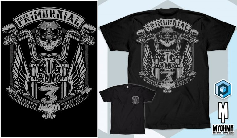 Primordial Radio Big Bang 3 Mens Merch