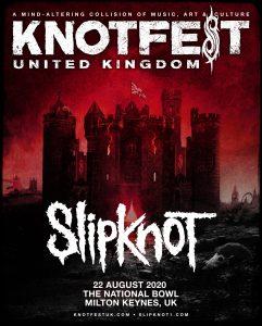 Knotfest UK 2020 Flyer