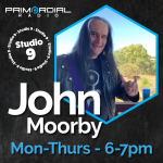 John in Studio 10 for Primordial Radio