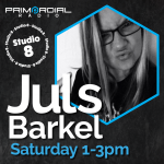 Juls in Studio 8 for Primordial Radio