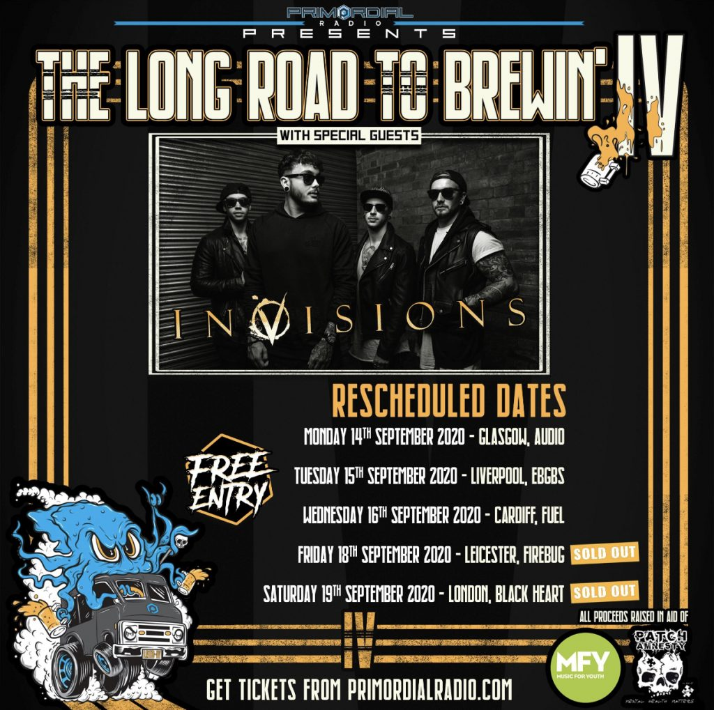 Long Road to Brewing - September Square flyer