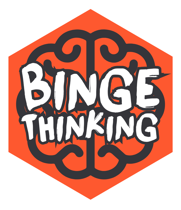 Primordial Radio Binge Thinking Podcast Logo