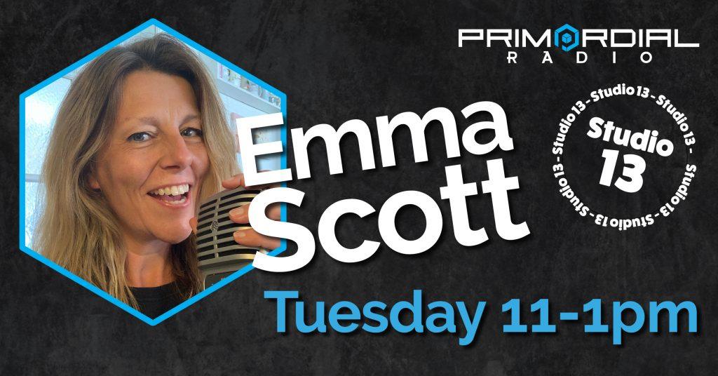 Emma Scott Primordial Radio Studio 13