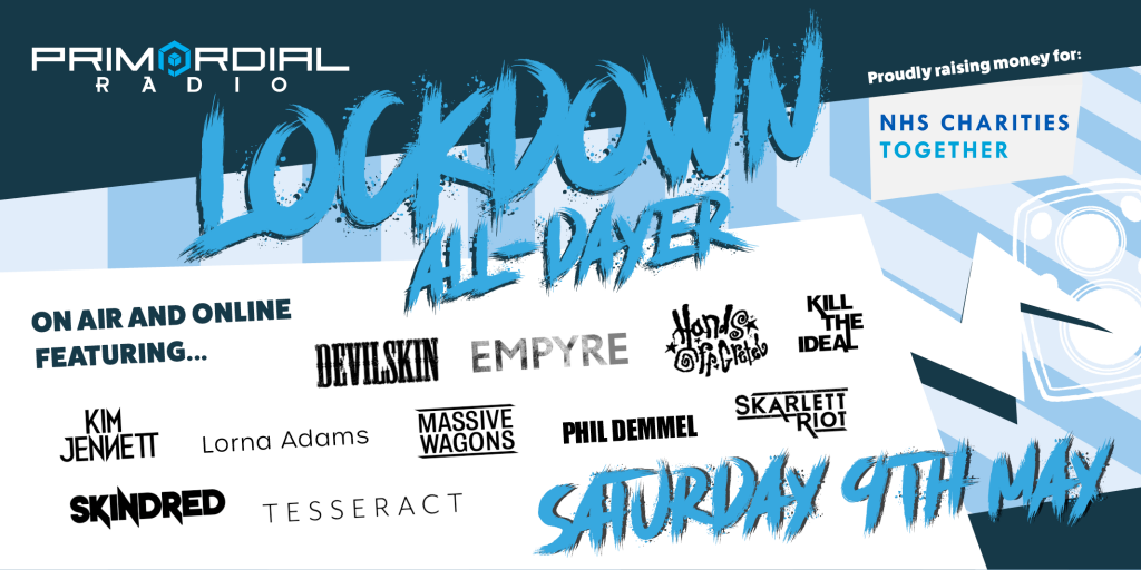 Primordial Radio Lockdown All Dayer 9th May Landscape Banner