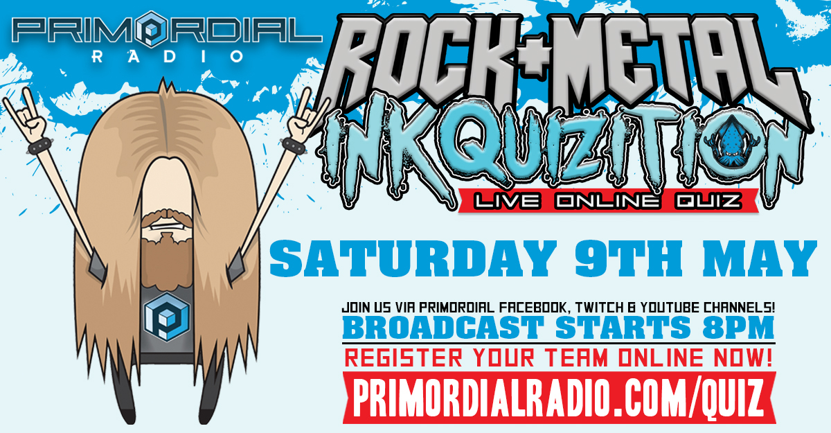 Rock and Metal Inkquizition 9th May - FB Flyer