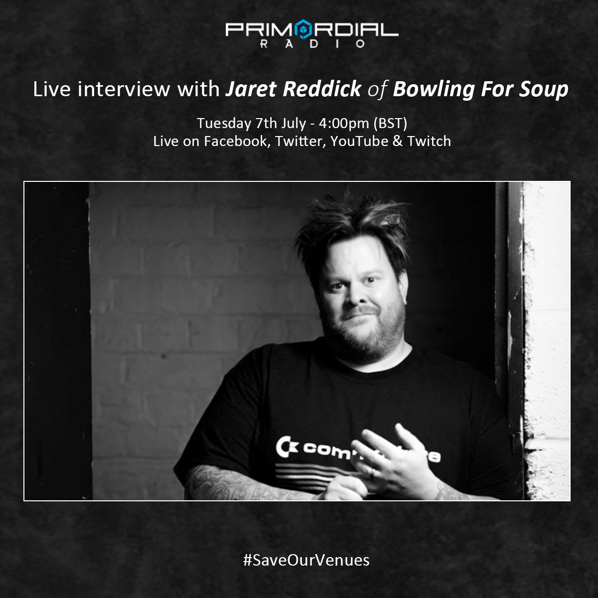 Video Interview with Jaret Reddick from Bowling for Soup on Primordial