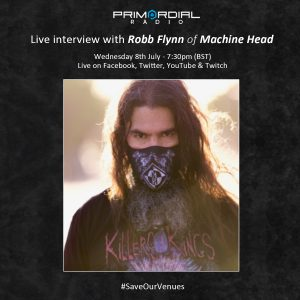 Video Interview with Rob Flynn of Machine Head on Primordial