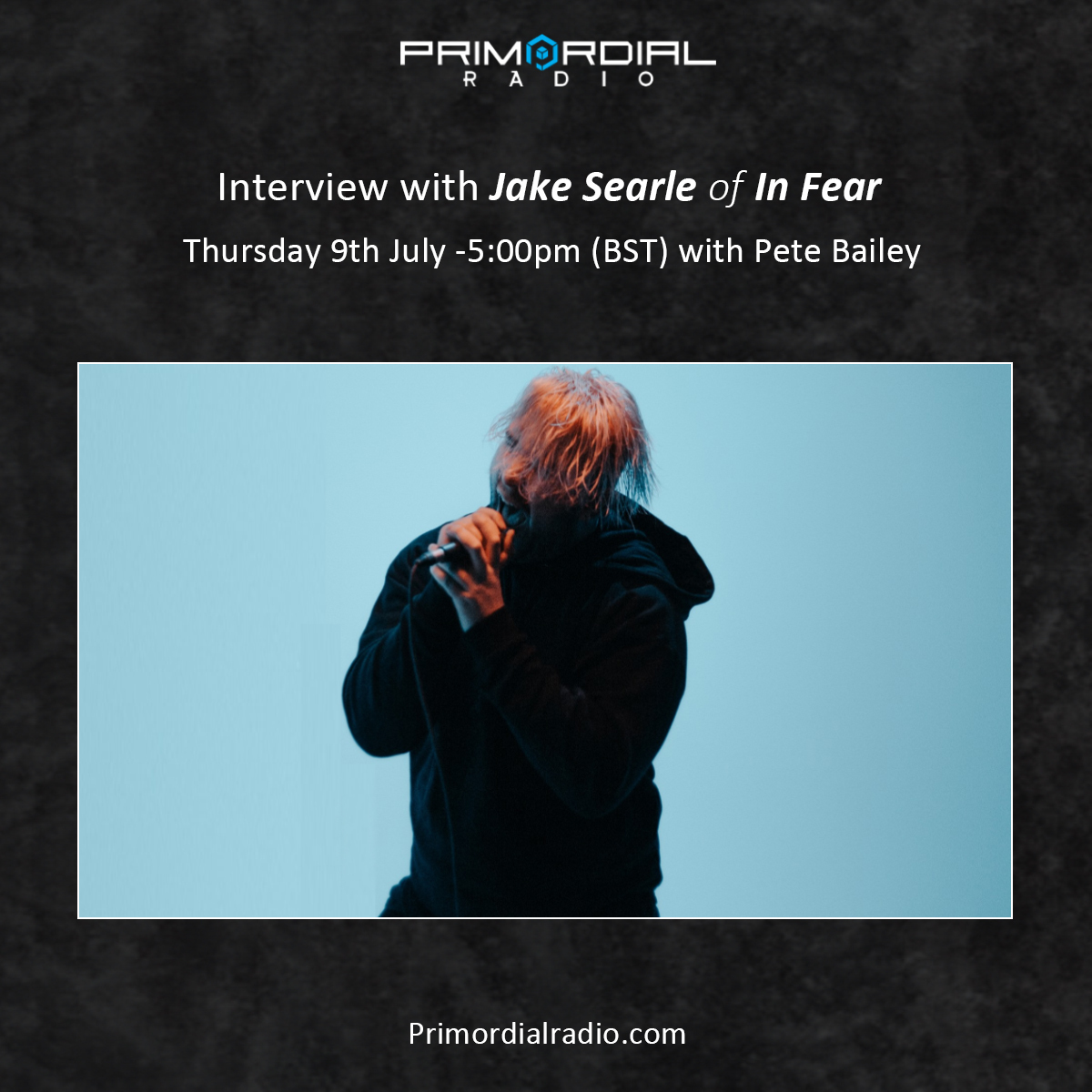 Interview with Jake Searle of InFear on PrimordialRadio