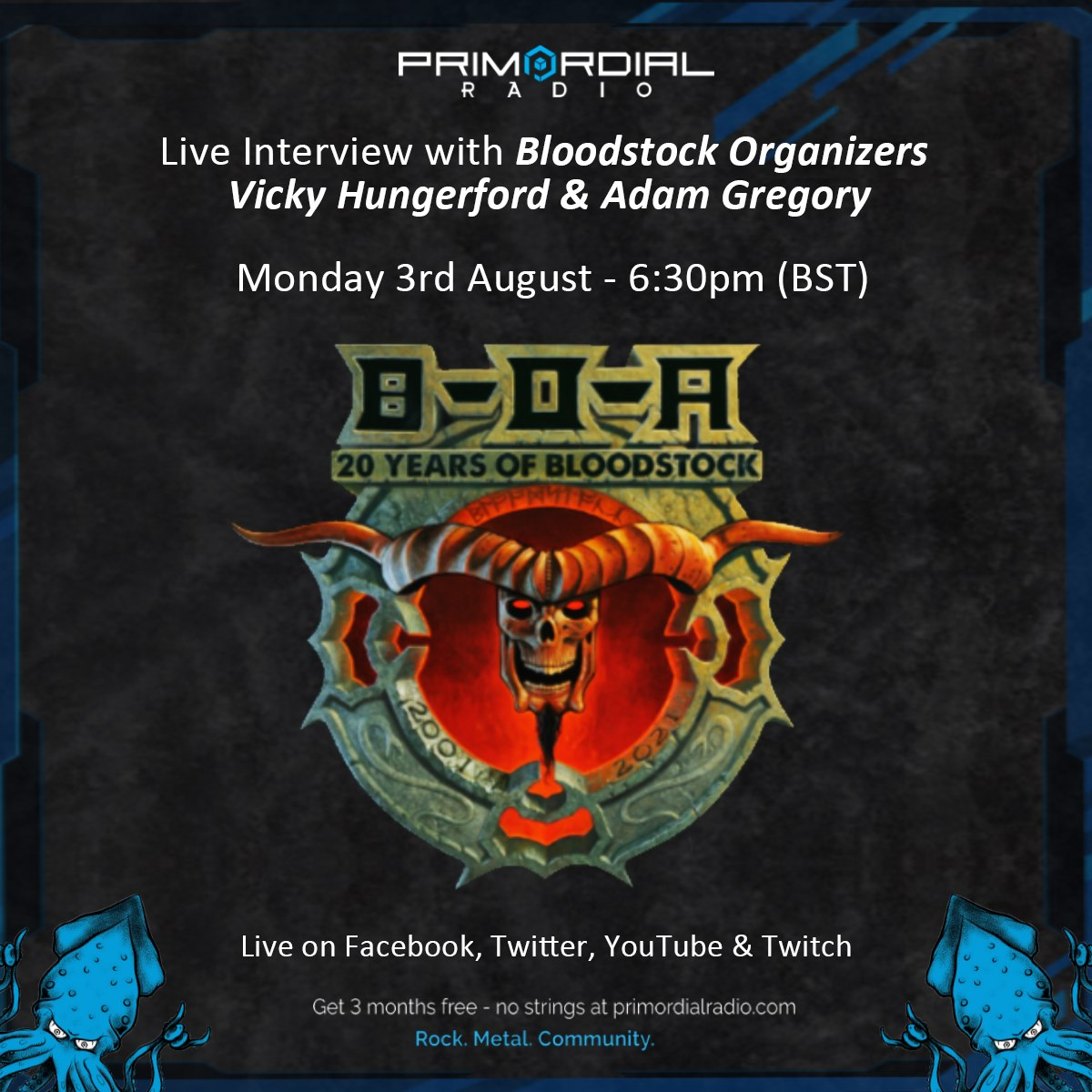 Video Interview with Bloodstock Organisers Vicky Hungerford and Adam Gregory