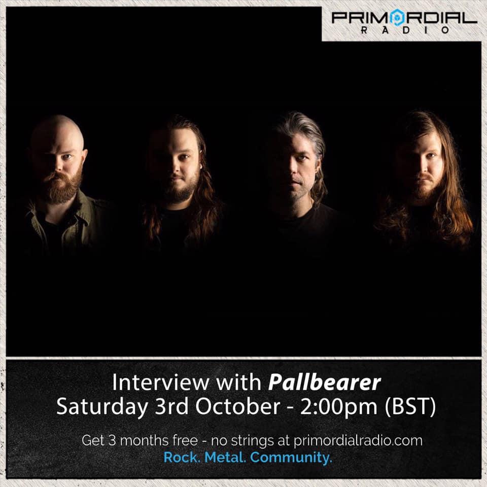 Brett from Pallbearer Interview on Primordial Radio