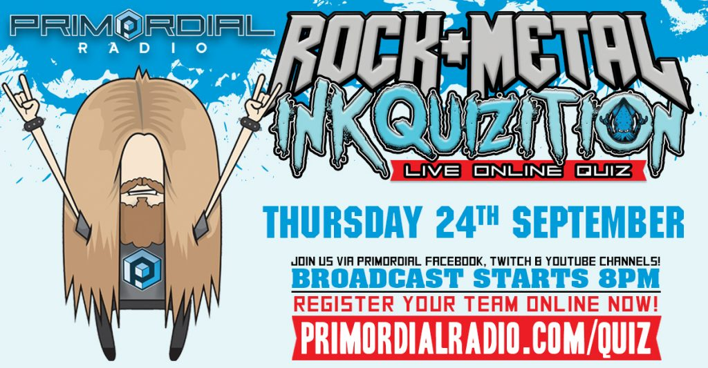 Rock and Metal Online Quiz 24th September 2020