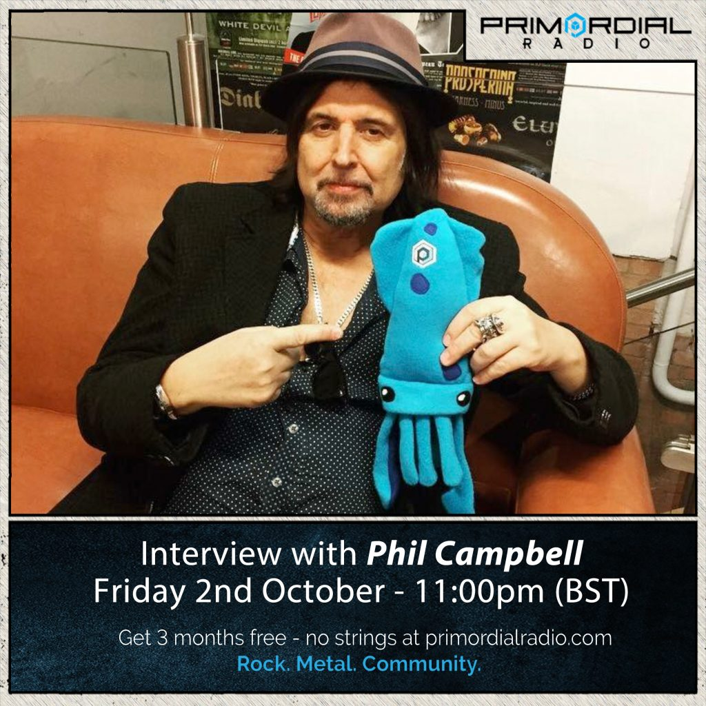 Interview Phil Campbell on Primordial