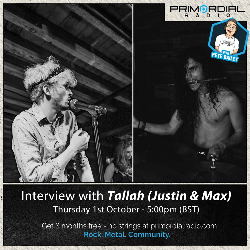 Interview with Justin and Max from Tallah