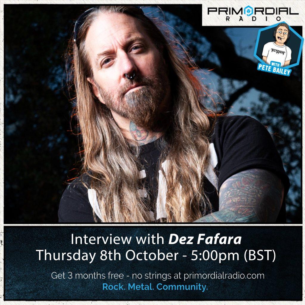 Dez Dafara from DevilDriver interview